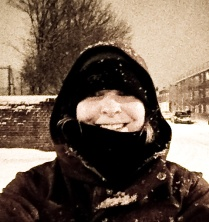 snow happiness!